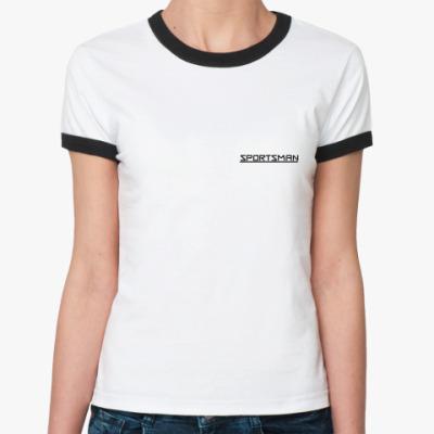 Женская футболка Ringer-T SPORTSMAN