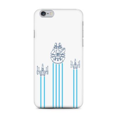 Чехол для iPhone 6 Plus звёздные войн (Star wars)