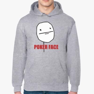 Толстовка худи Poker face