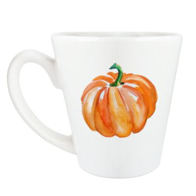 Чашка Латте Тыква - арт