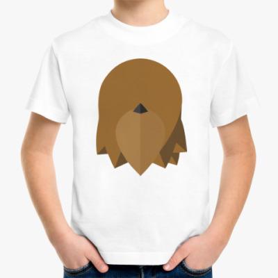 Детская футболка Чубакка (Chewbacca) Минимализм