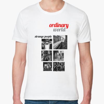 Футболка из органик-хлопка OrdinaryWorld