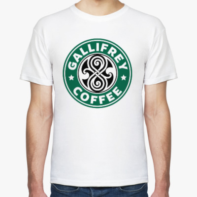 Футболка Gallifrey Coffe