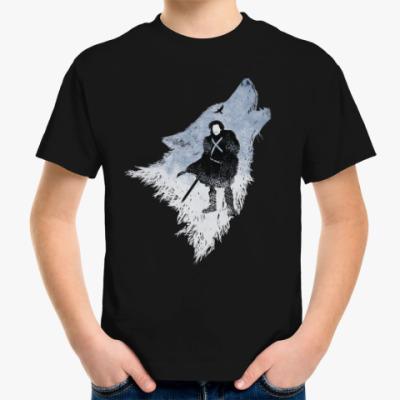 Детская футболка Игра Престолов: Джон Сноу