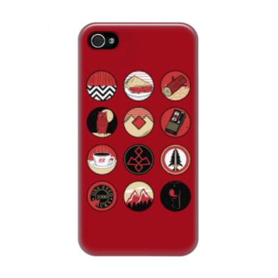 Чехол для iPhone 4/4s Сериал Твин Пикс Twin Peaks