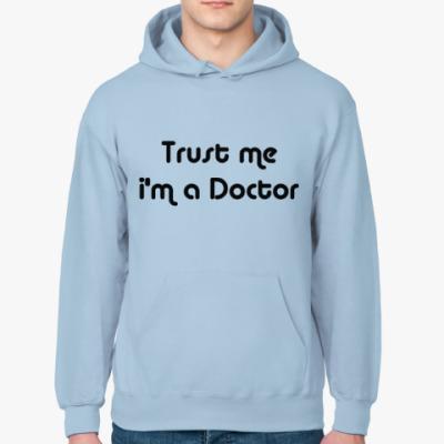 Толстовка худи Trust me i'm a Doctor