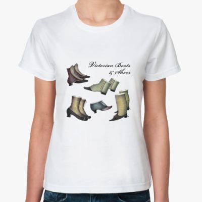 Классическая футболка Ретро-обувь