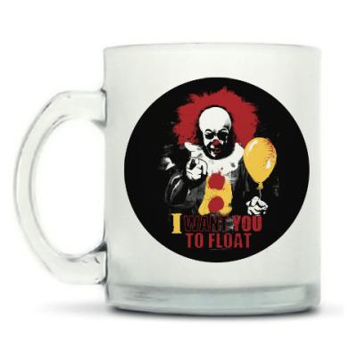 Кружка матовая Clown It by Stephen King