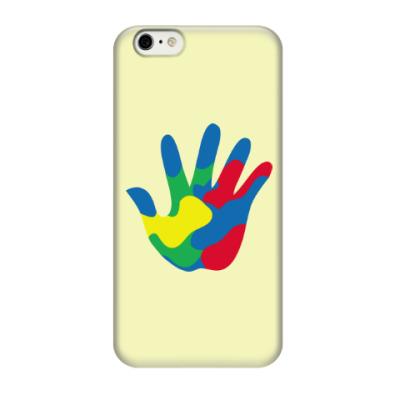 Чехол для iPhone 6/6s Отпечаток Руки