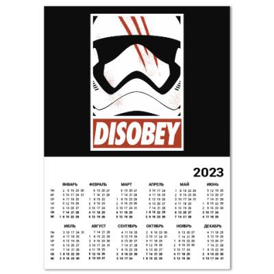 Календарь Star Wars: Disobey
