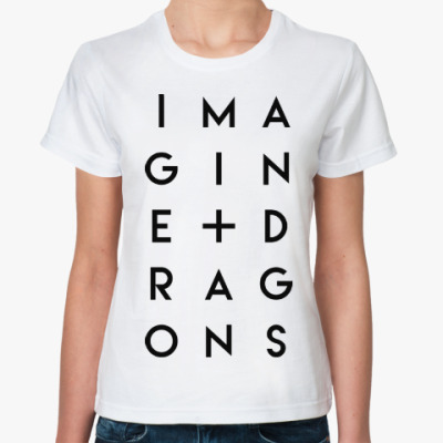 Классическая футболка Imagine Dragons