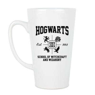 Чашка Латте Hogwarts