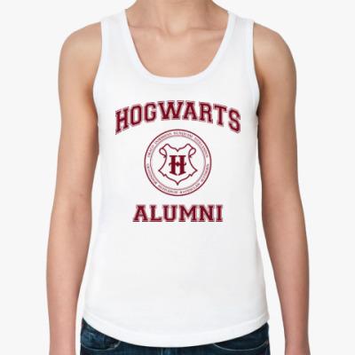 Женская майка Hogwarts Alumni