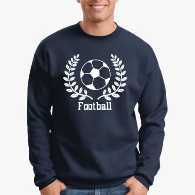 Свитшот для любителей футбола