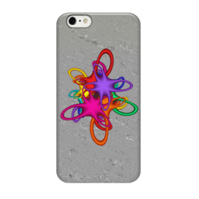 Чехол для iPhone 6/6s Цветной акцент