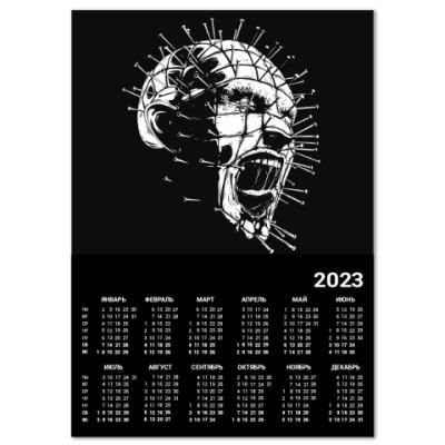 Календарь Hellraiser Восставший из ада
