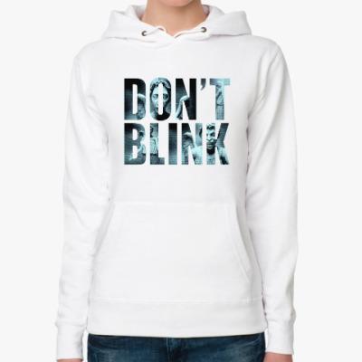 Женская толстовка худи Don't Blink