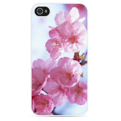 Чехол для iPhone Pink flowers