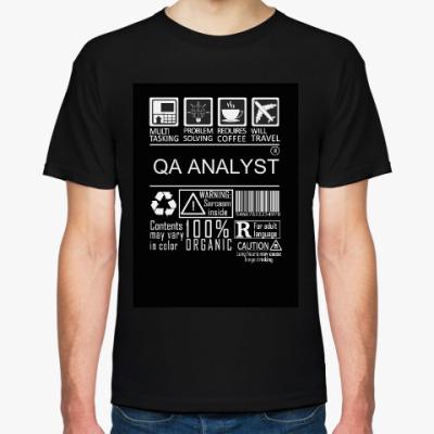 Футболка QA ANALYST MULTITASKING