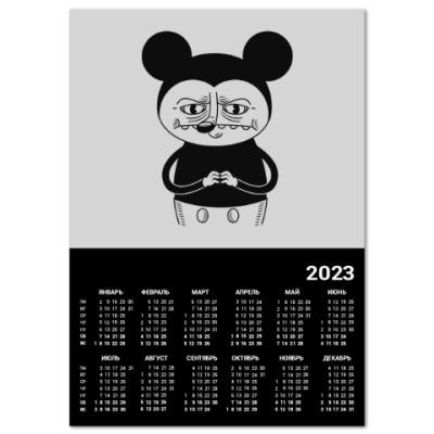 Календарь Bad Mickey Mouse