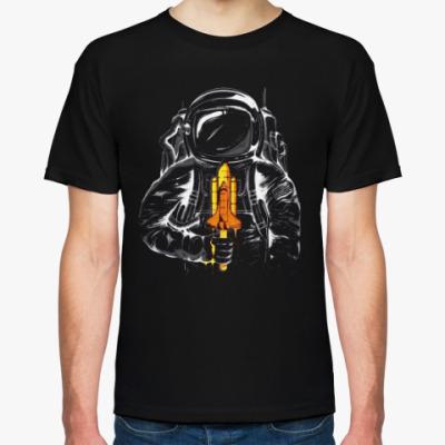 Футболка Космонавт с леденцом