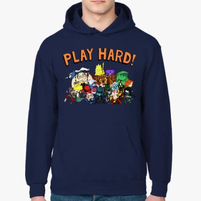 Толстовка худи Play Hard!