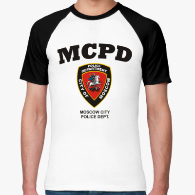 Футболка реглан MCPD