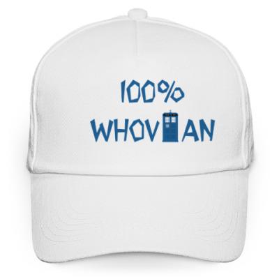 Кепка бейсболка 100% WHOVIAN ТАРДИС