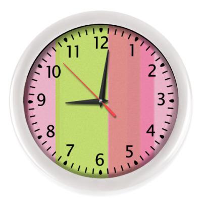 Настенные часы полосы