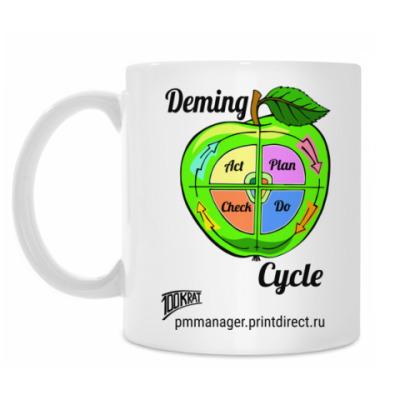Кружка Цикл Деминга / Deming cycle