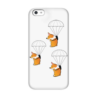 Чехол для iPhone 5c смешные собаки корги