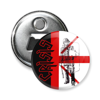 Магнит-открывашка Crisis 'UK 78'