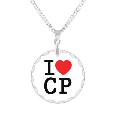 Кулон I love CP