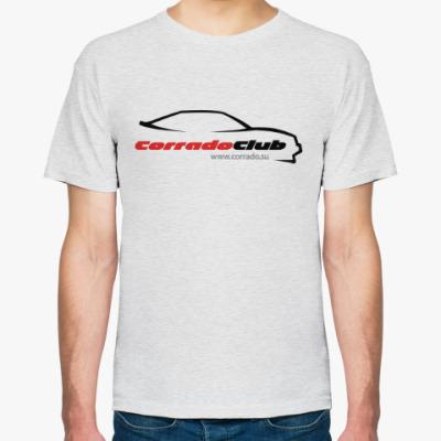Футболка Логотип corrado club (светло-серая)