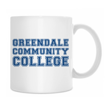 Кружка Greendale Community College