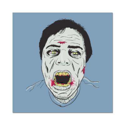 Наклейка (стикер) Зомби