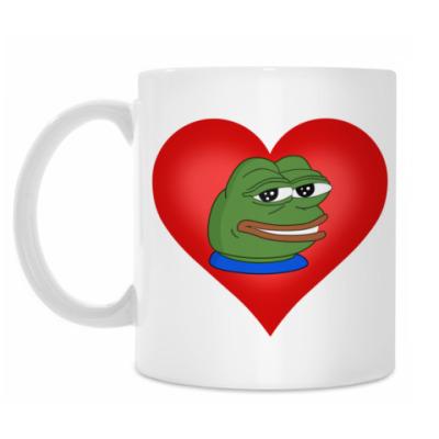 Кружка Pepe In My Heart