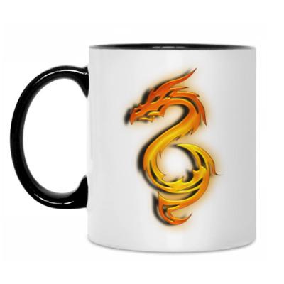 Кружка Огненный дракон