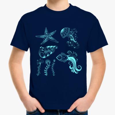 Детская футболка Морские обитатели