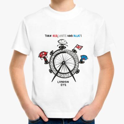 Детская футболка London Eye
