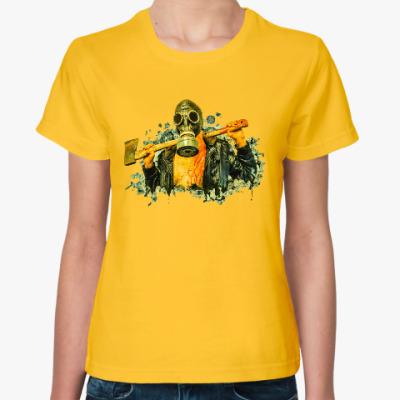 Женская футболка Zombie Killer