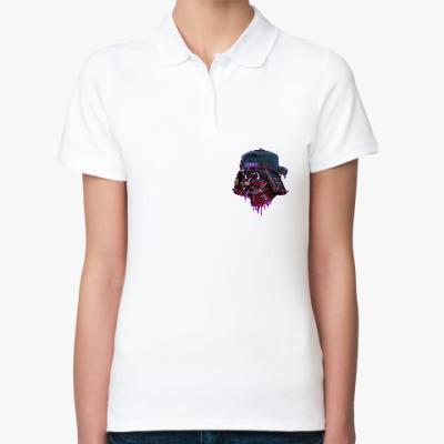 Женская рубашка поло Дарт Вейдер Бомж