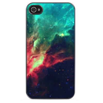 Чехол для iPhone Space RedBlue