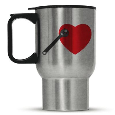 Кружка-термос Ключ от сердца