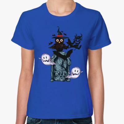 Женская футболка Хэллоуин 31 октября