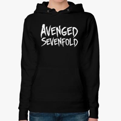 Женская толстовка худи Avenged Sevenfold