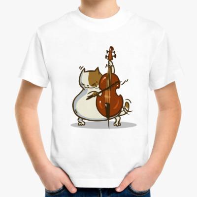 Детская футболка Пятничный Котик №24