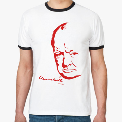 Футболка Ringer-T Winston Churchill