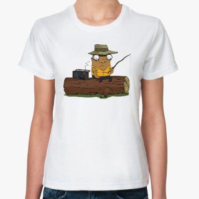 Классическая футболка Шамиль-рыбак