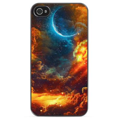 Чехол для iPhone Космос фэнтази